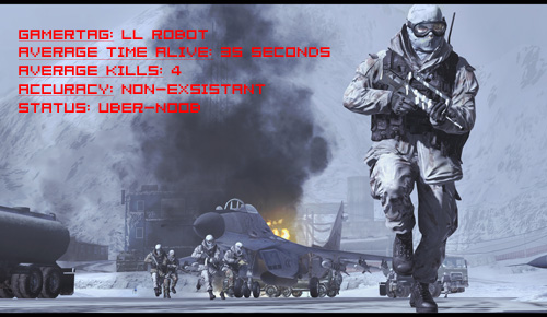 I suck at Modern Warfare 2